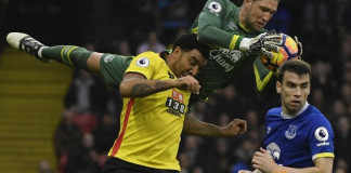Watford beat Everton 3-2 with Okaka double