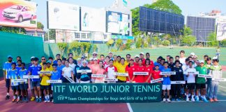 World Junior Tennis Tournament - Opening ceremony
