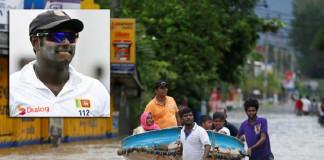 Sri Lanka cricket team will be making a donation