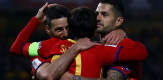 Aduriz becomes Spain's oldest scorer in Macedonia rout