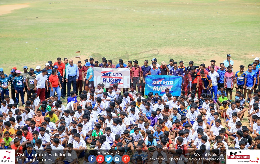 Get Into Rugby - Jaffna