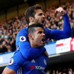 Costa fires Chelsea back to the top, United beat Spurs