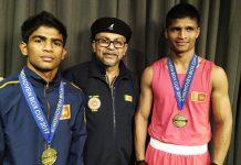 Sri Lanka won the 2 gold in Netherland international boxing championship