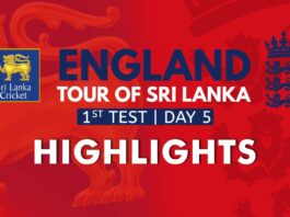 Highlights - England tour of Sri Lanka 2021