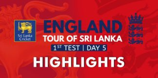 Highlights - England tour of Sri Lanka 2021