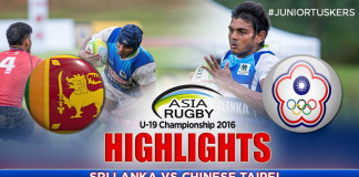 Highlights - Sri Lanka v Chinese Taipei