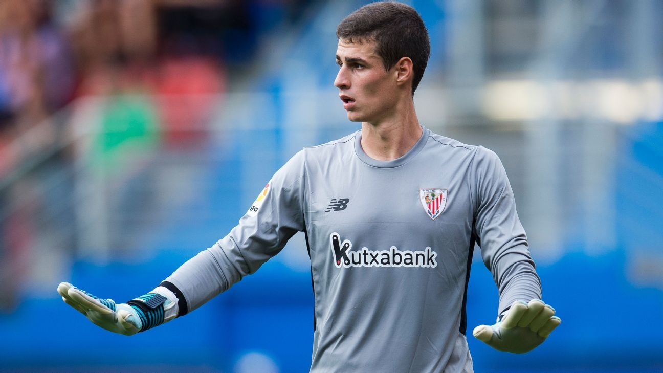 202e17243 Chelsea have signed Kepa Arrizabalaga from Athletic Bilbao for £71m – the  highest fee ever paid for a goalkeeper
