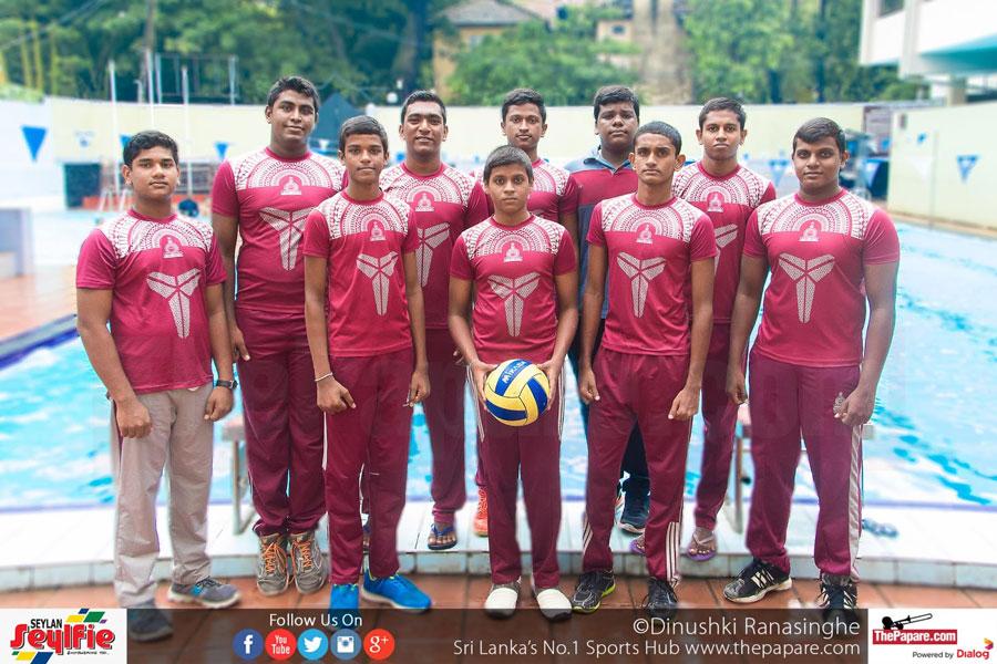 The Nalanda College Waterpolo Team