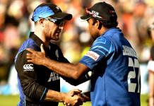 New Zealand vs Sri Lanka ODI Series