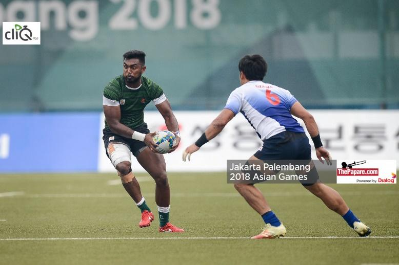 Ranjan played a few minutes of the Asian Games, but couldn't make a considerable impact due to injuryRanjan played a few minutes of the Asian Games, but couldn't make a considerable impact due to injury