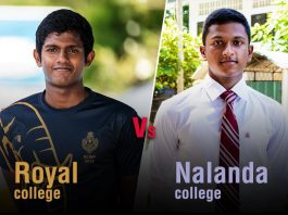 Royal vs Nalanda Water Polo Encounter 2018