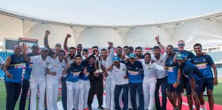 Sri Lanka rise in test rankings