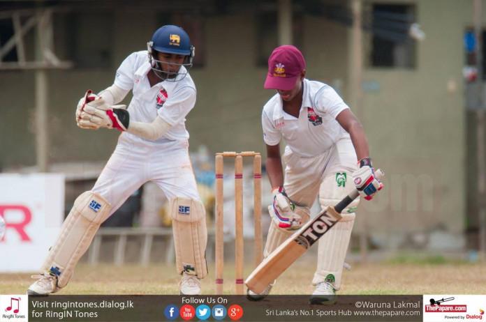 Kavika Dilshan guides Aloysius into quarters