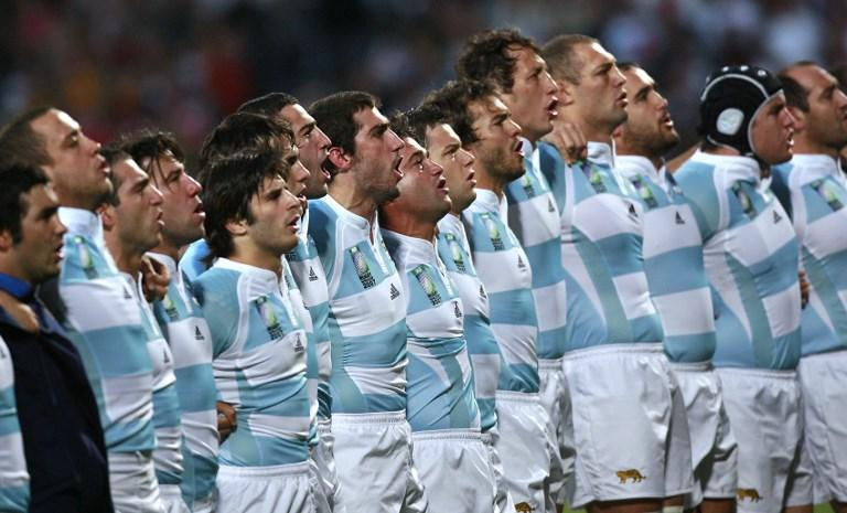 """""""Our best resources are the passion and pride when we put on the jersey"""" – Agustin Pichot (Image courtesy – AFP)"""