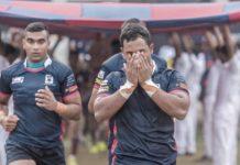 Shazaan Mohammed, Dnal Ekanayake Kingswood College rugby team