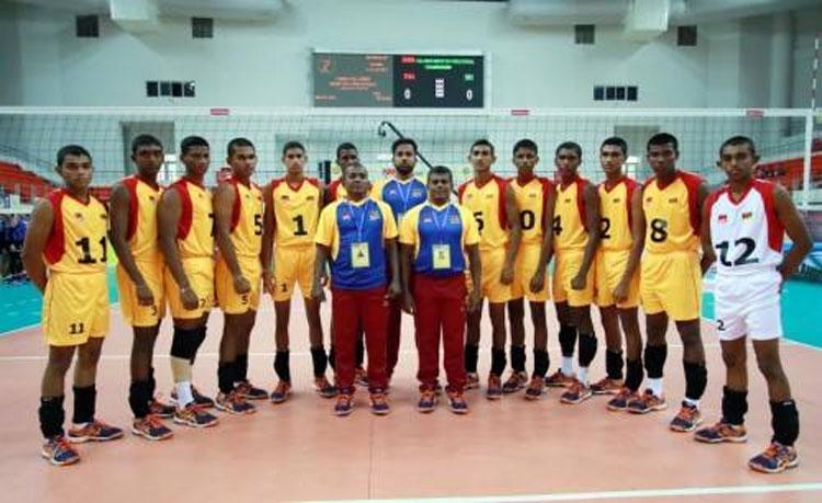 Sri Lanka U19 volleyball