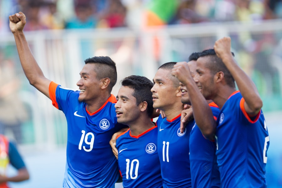 Chhetri's extra time goal gives India 7th SAFF Championship