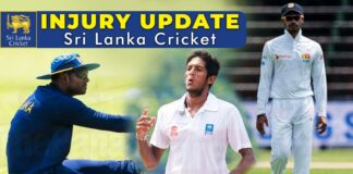 Sri Lanka Cricket Injuries