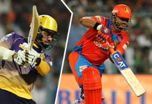 IPL 2017 Kolkata knight riders v Gujarat lions