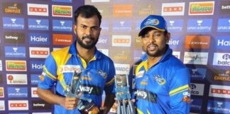 Tharanga and Dilshan guide Sri Lanka Legends