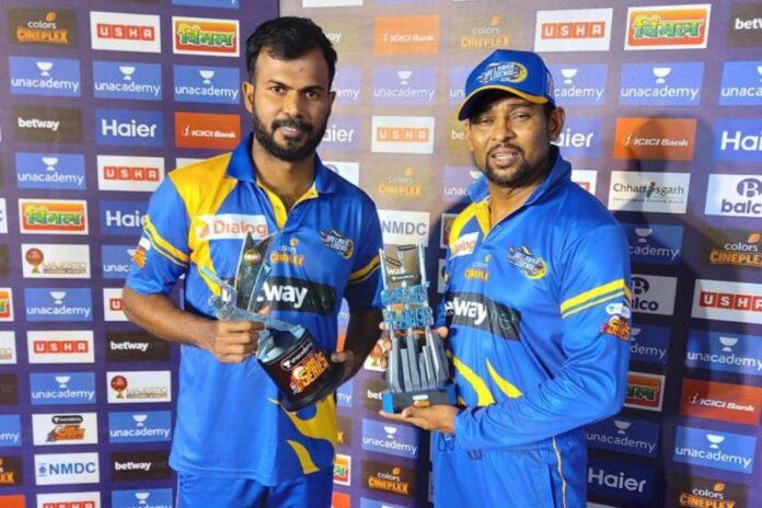 Tharanga and Dilshan guide Sri Lanka Legends
