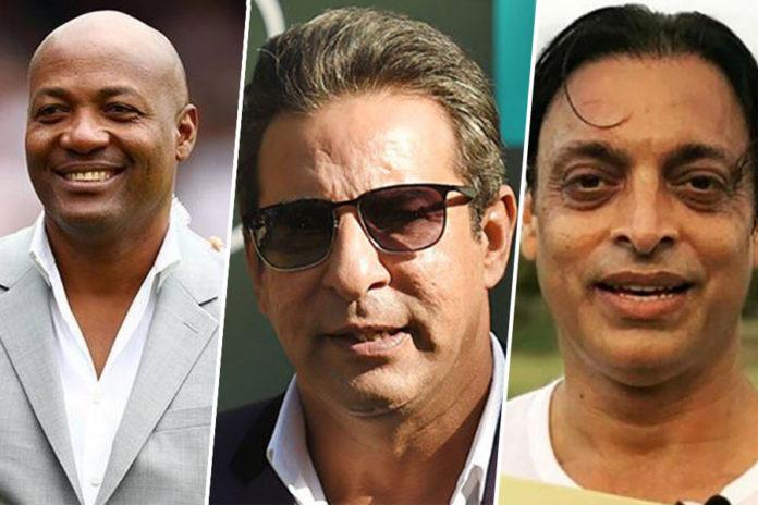 Wasim Akram, Shoaib Akhtar & Brian Lara