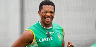 Newly appointed assistant national team coach in charge of bowling for Zimbabwe Cricket Makhaya Ntini.