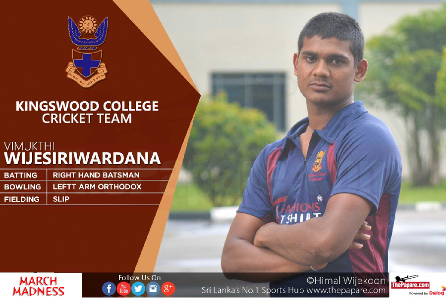 Dharmaraja v Kingswood Big match day 1