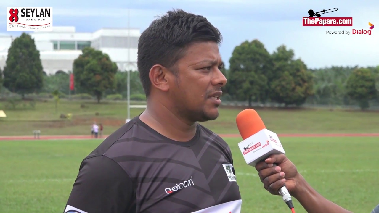 Post-match interviews with the U19 team