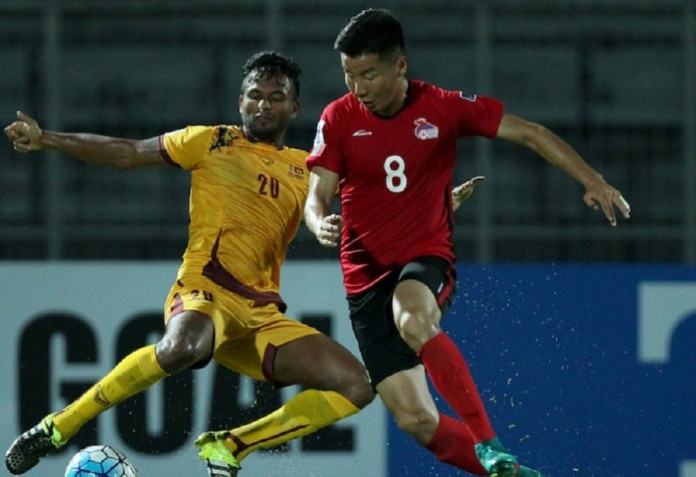 Mongolian penalties down Sri Lanka