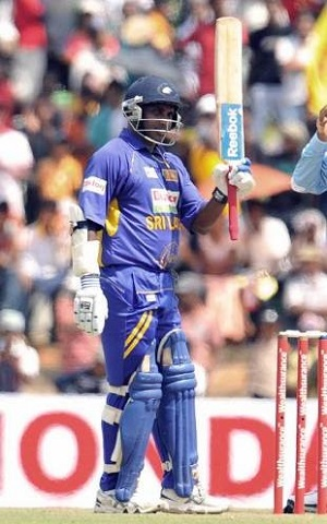 Jayasuriya, the oldest ODI centurion for Sri Lanka (Image courtesy – AFP)