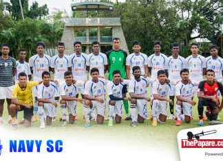Navy SC Football Team 2016