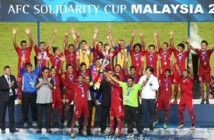 NEPAL CROWNED AFC SOLIDARITY CUP 2016 CHAMPIONS