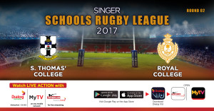 S.Thomas' College v Royal College - Schools Rugby 2017 - 29th April