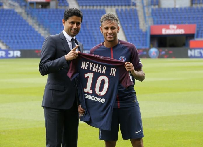 Neymar press
