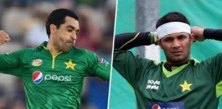 Umar Gul and Imran Farhat