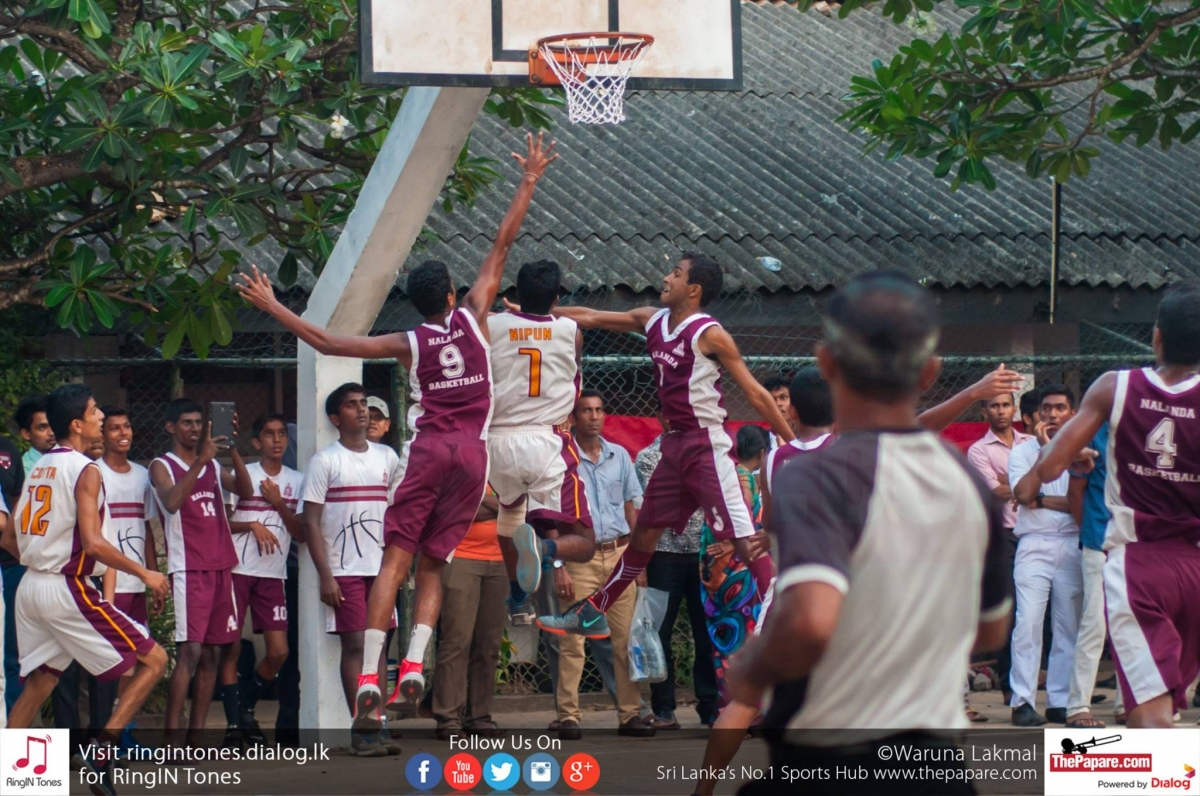Ananda College V Nalanda College Annual Basketball Encounter