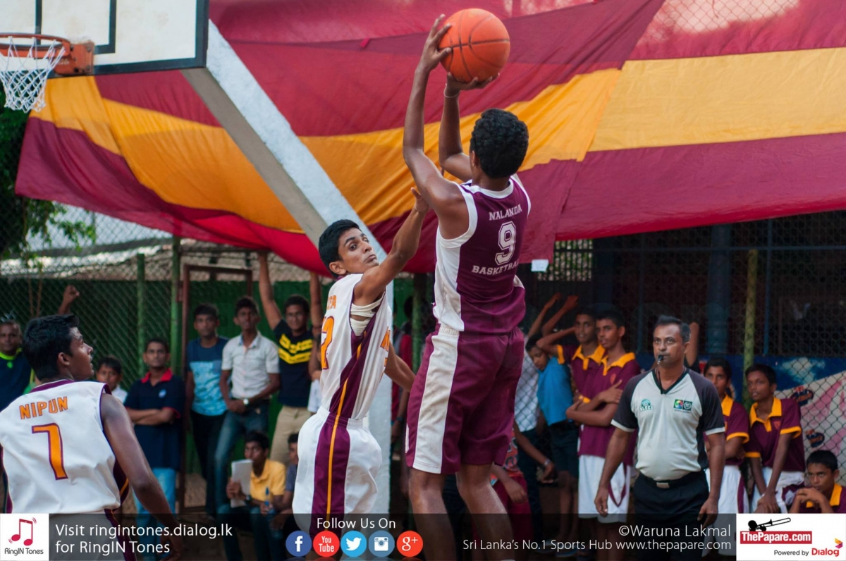 Ananda College v Nalanda College Annual Basketball Encounter
