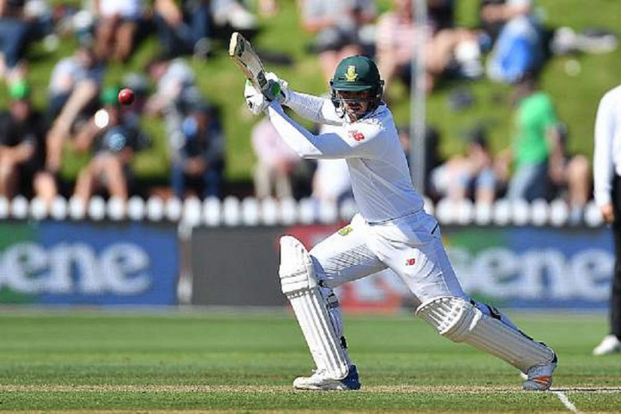 Quinton de Kock stroked 10 boundaries and three sixes in his 91-run knock © AFP