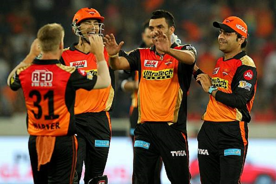 SRH picked up from where they left off last season with a clinical victory. © BCCI