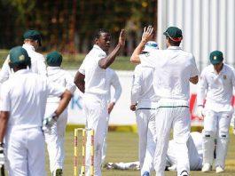 Rabada, Maharaj expedite South Africa's 333-run victory