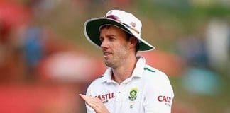 This will be de Villiers' first Test in almost two months. © Getty