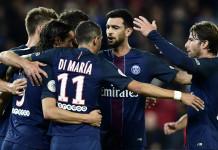 Cavani and Di Maria on target as PSG take Ligue 1 lead