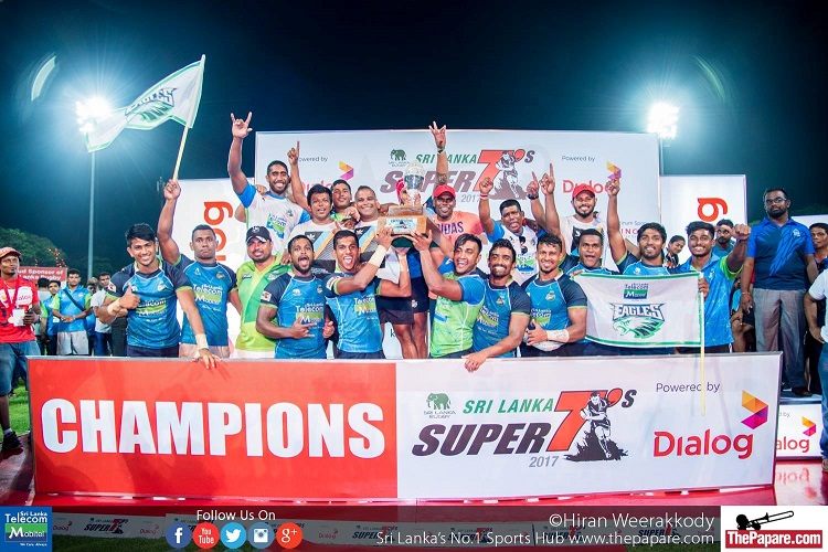 Thanks to Roshan's captaincy, the Eagles won back to back Super 7's titles