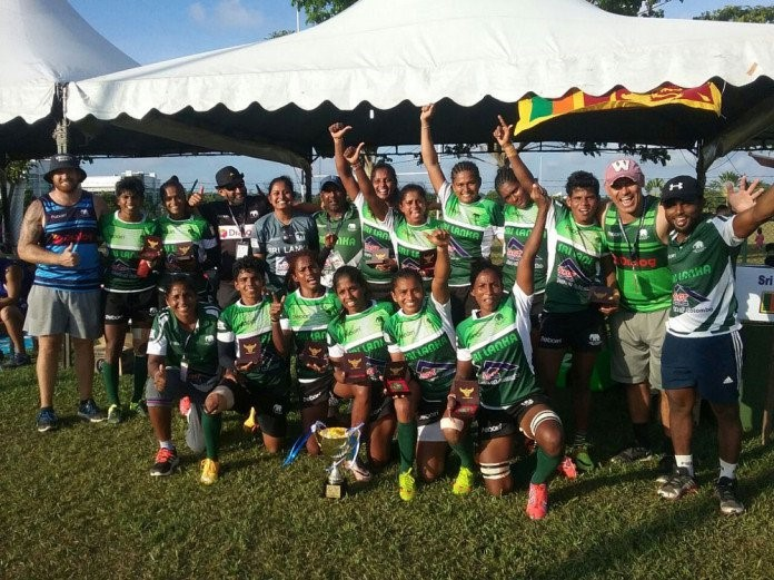 Sri Lanka's Boreno Women's cup title set the start this year for women's rugby development