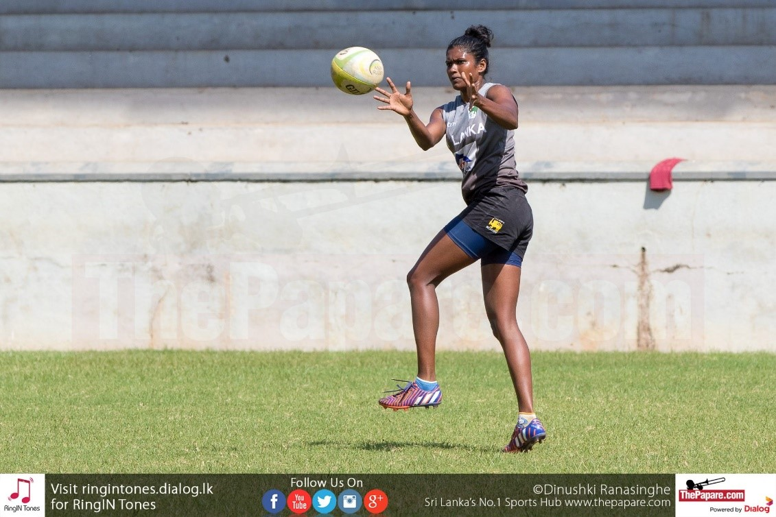 Thanuja Weerakkody is one Sri Lanka's most experienced Women's rugby campaigners