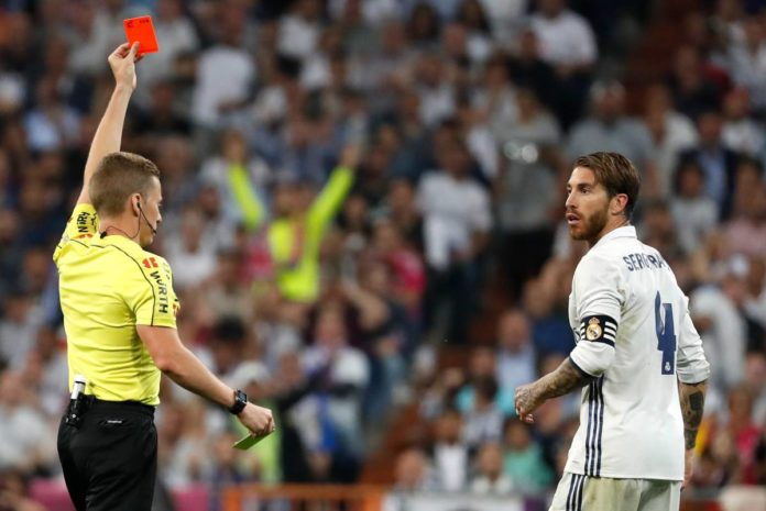 Players with the Most Red Cards in Football