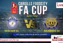 FA Cup semi-finals on 1st of June