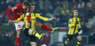 Dortmund stumble to 1-1 draw at Mainz