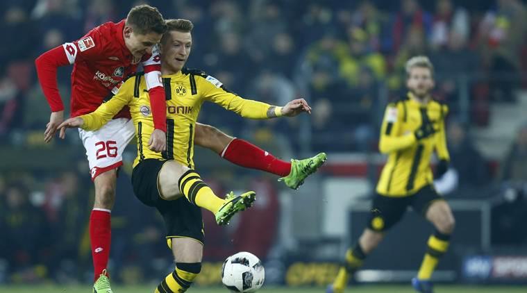 Dortmund stumble to 1-1 draw at Mainz